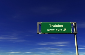 training-sign